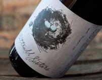 Cattral Sisters Wine Label Design