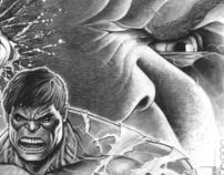 Hulk illustration/commission