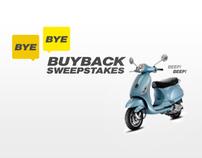 sprint + vespa buyback sweeps facebook app + mobile