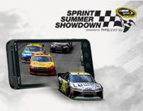 NASCAR sprint summer showdown sweepstakes mobile