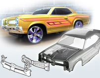 Redesign Remote Control 66' GTO by DFM Method