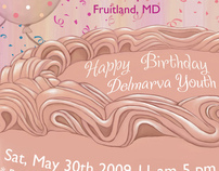 Delmarva Youth Birthday Poster