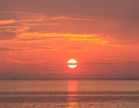 Denmark - summer seascape timelapse