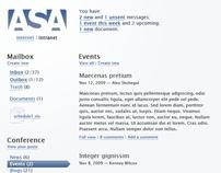 ASA Intranet Design