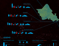 Surf Spots Infographic
