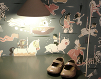 Interior Design Project - Carrousel Room