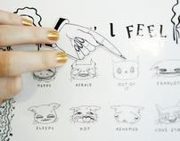 Cat Mood Magnet Charts - Feeling Misunderstood?
