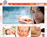 Loto Spa Website