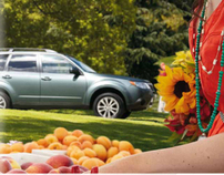 2012 Forester Print & Interactive Brochure