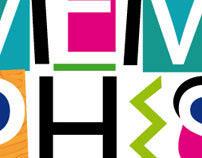 MEMPHIS (typographic poster)