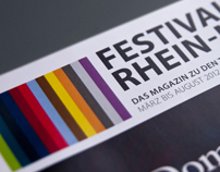 Festivalmagazine // Editorial Design, Illustration, Art