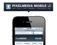 PixelMEDIA Mobile Interface Design