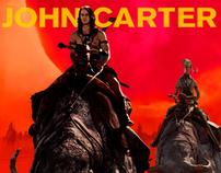 disney's john carter web banner ads