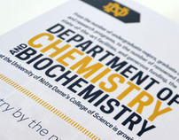 Chemistry and Biochemistry Brochure