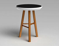 'Eclipse' Side Tables