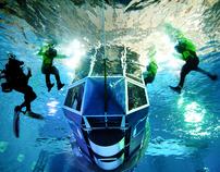 HUET underwater survival