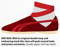 Reebok Footwear Concept