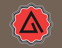 Animhut Official Logo badge mode