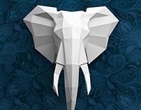 An elegant elephant