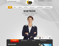 Exetech Computer Solution Website Design