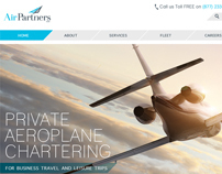 Private Jet Chartering Website