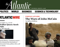 The Atlantic Monthly Redesign Concept