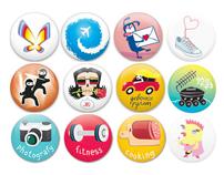 LipLab badges