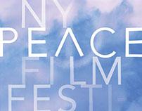 POSTER DESIGN: NY Peace Film Festival