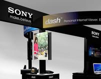 Sony Dash Kiosk