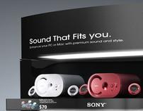Sony Speaker Display