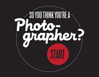 So You Think You're A Photographer: Infographic