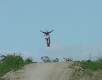 Dirt Bikes Flying High