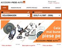 Accesorii Piese Auto.ro - Proposal