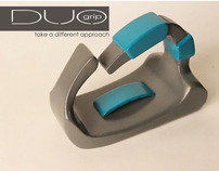 DUO Grip: Universal Designed Clothing Iron