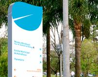 Parque do Ibirapuera - Signage / Sinalização