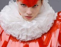The birds, fashion design, 2004
