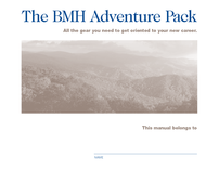 Selected Pages from Blount Memorial Hospital Handbook