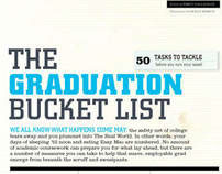Graduation Bucket List: Feature Article