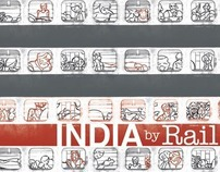 INDIA BY RAIL – Travel book on India