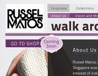 Russel Matos Website and Online Shop