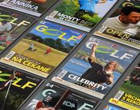 Golf Magazine Design