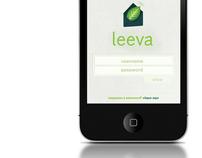 Leeva's Iphone App