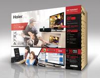 Haier TV + Soundbar Bundle Package