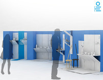 Line   Cardboard Stand System