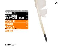 Dublin Writers Festival (Zn)