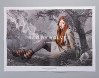 Red By Wolves Rebrand, Lookbook and Ad Campaign