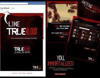 """True Blood """"Immortalize Yourself"""" Facebook App"""