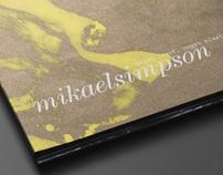 CD-Cover - Mikael Simpson, Noget laant, noget blaat