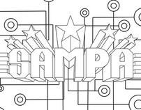 Estampas para loja Sampa In Stampa