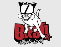 Blast Logo+Mascot Design